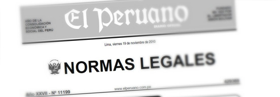 NORMAS LEGALES